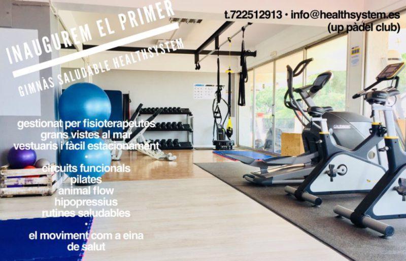 nou gimnàs healthsystem